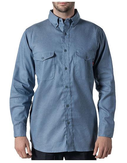 Walls FR Button-Down Chambray Work Shirt