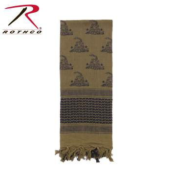 Shemagh Tactical Scarves Gadsden Snake