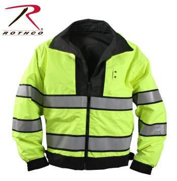 Reversible Hi-Vis Forced Entry Yellow/Black Uniform Jacket