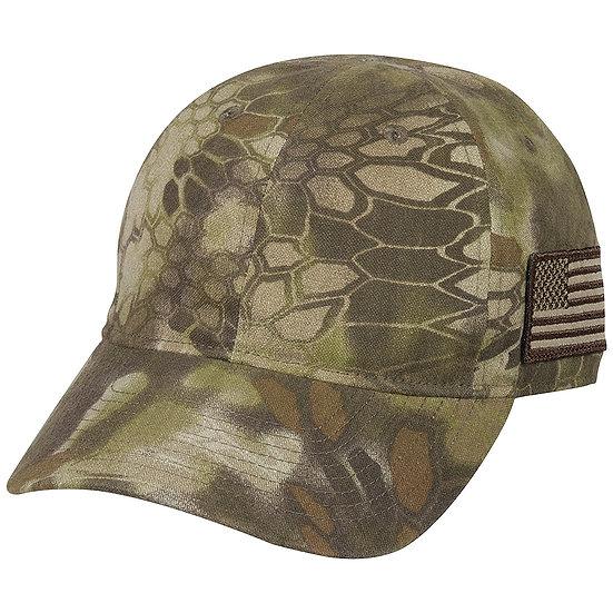 Kryptek Outdoor Quick-dry Cap w/American Flag
