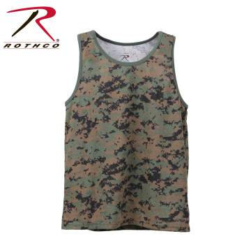 Camouflage Tank Top/Muscle Shirt