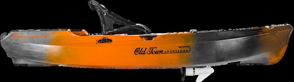Old Town Sportsman 106 Powered by Minn Kota