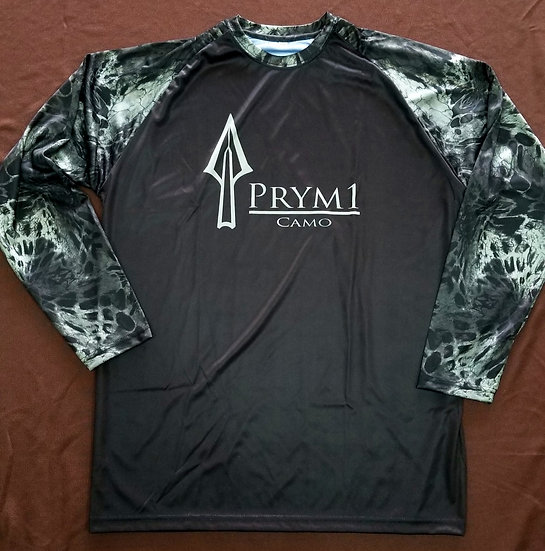 Prym1 Performance L/S Baseball Style Blackout