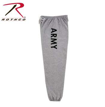 G.I. Style Grey Military PT Sweatpants