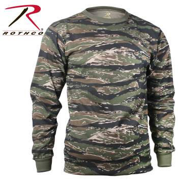 Long Sleeve Camouflage T-Shirts