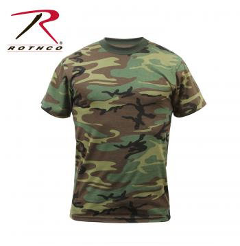 Adult Military Camo T-Shirt