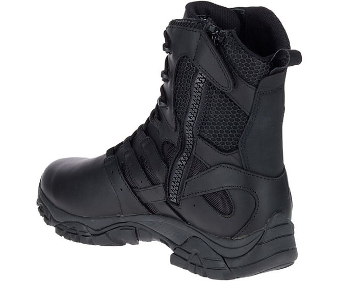 "Merrell Moab 2 8"" Tactical Response Waterproof Boot Black"