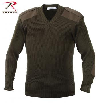 G.I. Style V-Neck Sweater