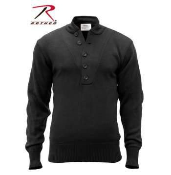 G.I. Style 5-Button Sweater