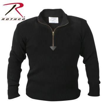 Quarter Zip Commando Sweater