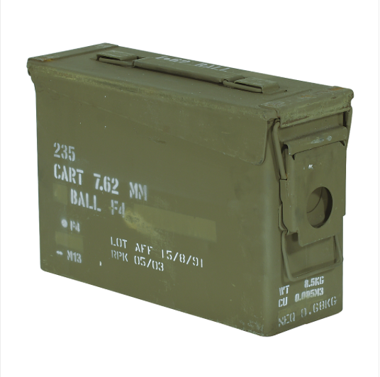 30 Cal Ammo Can Used