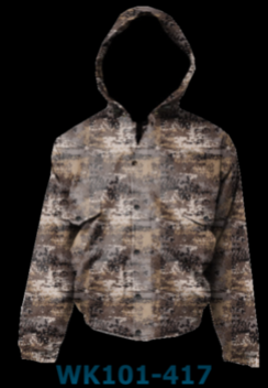 WFS Predator Camo Waterproof Insulated Hooded Jacket