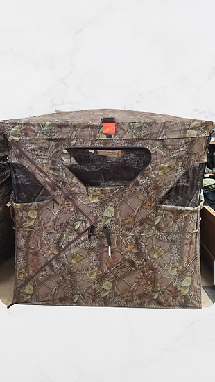 WFS Camo Hunting Blind w/Removable Top