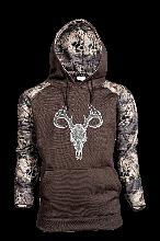 Prym1 MP/Coyote Brown Hoodie w/Deer Skull