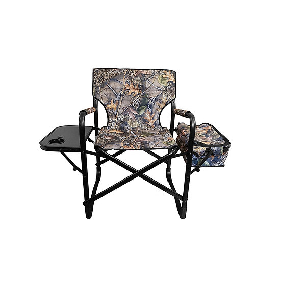 WFS Camo Director's Chair w/Cooler & Side Table