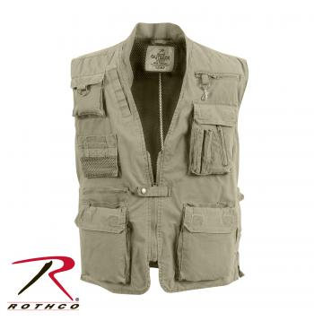 Tactical Deluxe Outback vest