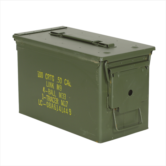 50 Cal Ammo Can Used