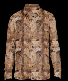 WFS Cotton Button Shirt Bird's Eyes Camo