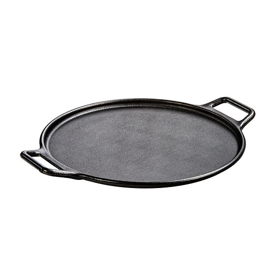 "Lodge 14"" Cast Iron Baking Pan w/Loop Handles"