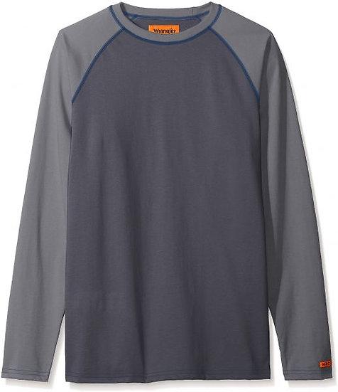 Wrangler FR 2 Tone Baseball T-Shirt