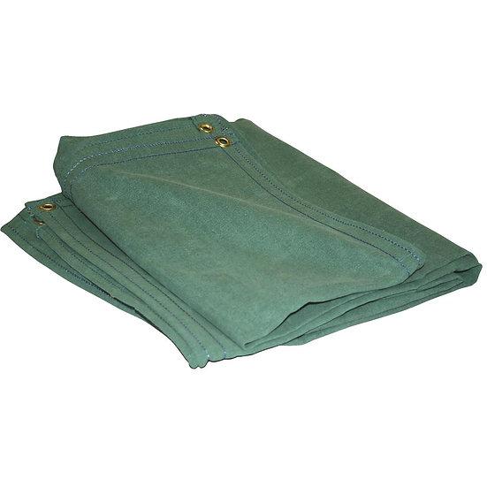 Green Canvas Tarp 10 x12