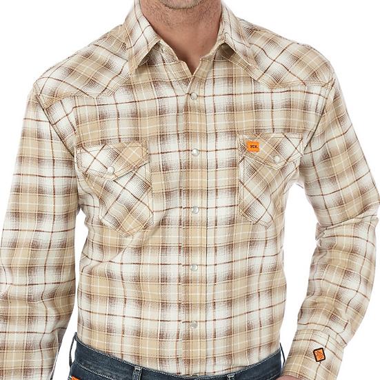 Wrangler 20X FR Pearl Snap Work Shirt