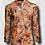 Thumbnail: WFS 1/4 Zip Performance Shirt Birds Eyes Camo