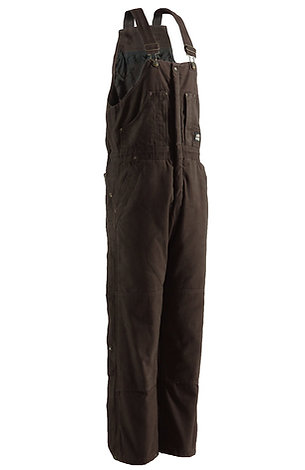 Berne Original Washed Insulated Bib Overall