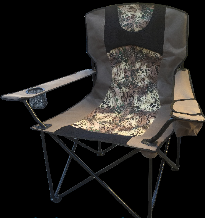 Prym1 Deluxe Camp Chair w/Cooler Pocket