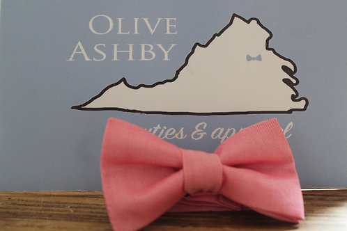 Pink boys pre-tied and mens self-tie bow tie, suspender & pocket square