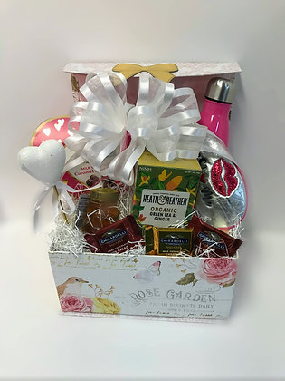 Enchanted Rose Garden Gift Basket