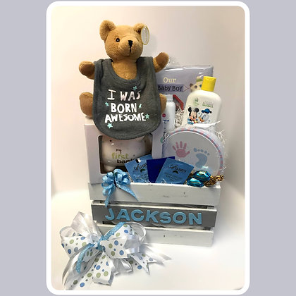 Personalized Memory Baby Gift Set