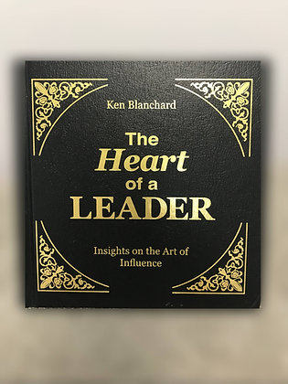 The Heart of a Leader - Hardcover Book