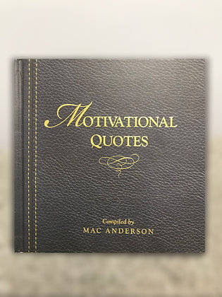Motivational Quotes - Hardcover Book
