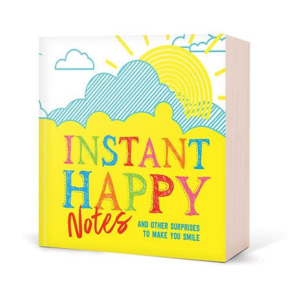 Instant Happy Notes (And other surprises to make you smile) - Paperback Book