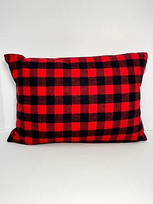 Buffalo Plaid Healing Hearts Pillow 3.0