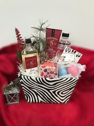 Bath & Beauty Aromatherapy Gift Basket