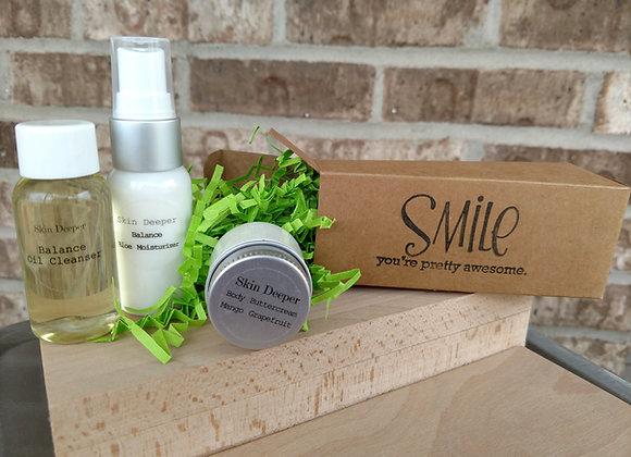 Send A SMILE Gift Set