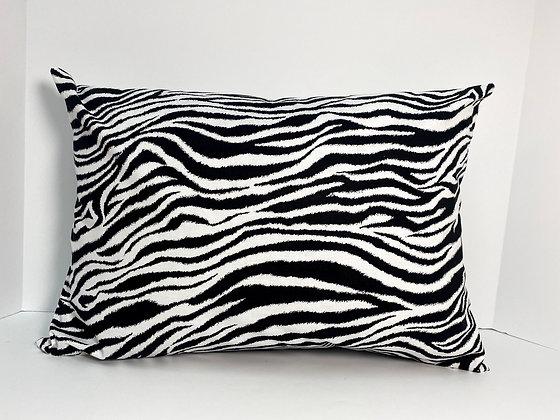 Zebra Print Healing Hearts Pillow 3.0