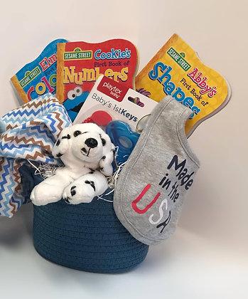 Baby Blues Gift Basket