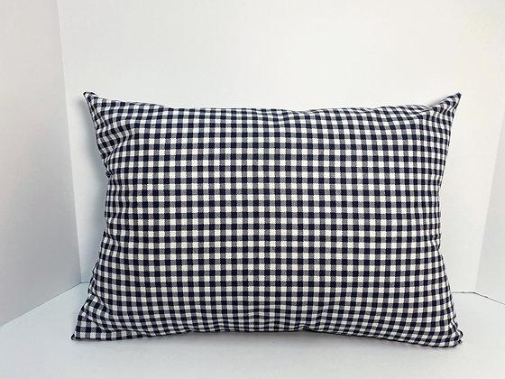 Gray Checkered Heart Surgery Cough Pillow, Mastectomy Pillow