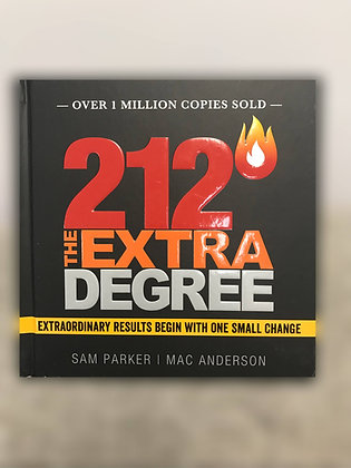 212 The Extra Degree - Hardcover Book