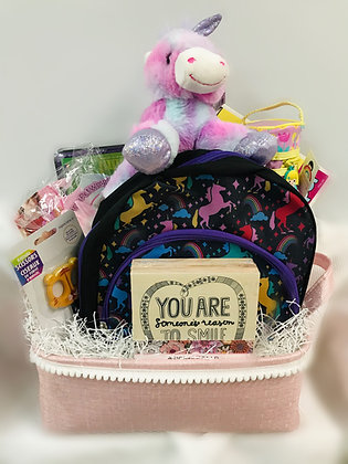 Unicorn Dreams Gift Basket