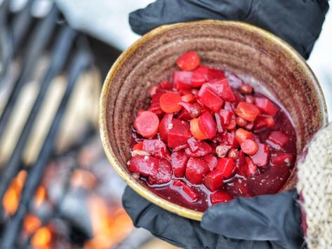 February's Full Moon - Hunger Moon Seasonal Recipes