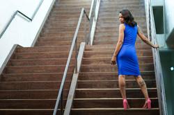 Blue Dress Back l4mp