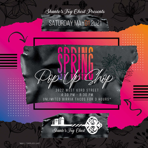 Shante's Toy Chest Spring Pop Up Show Ma