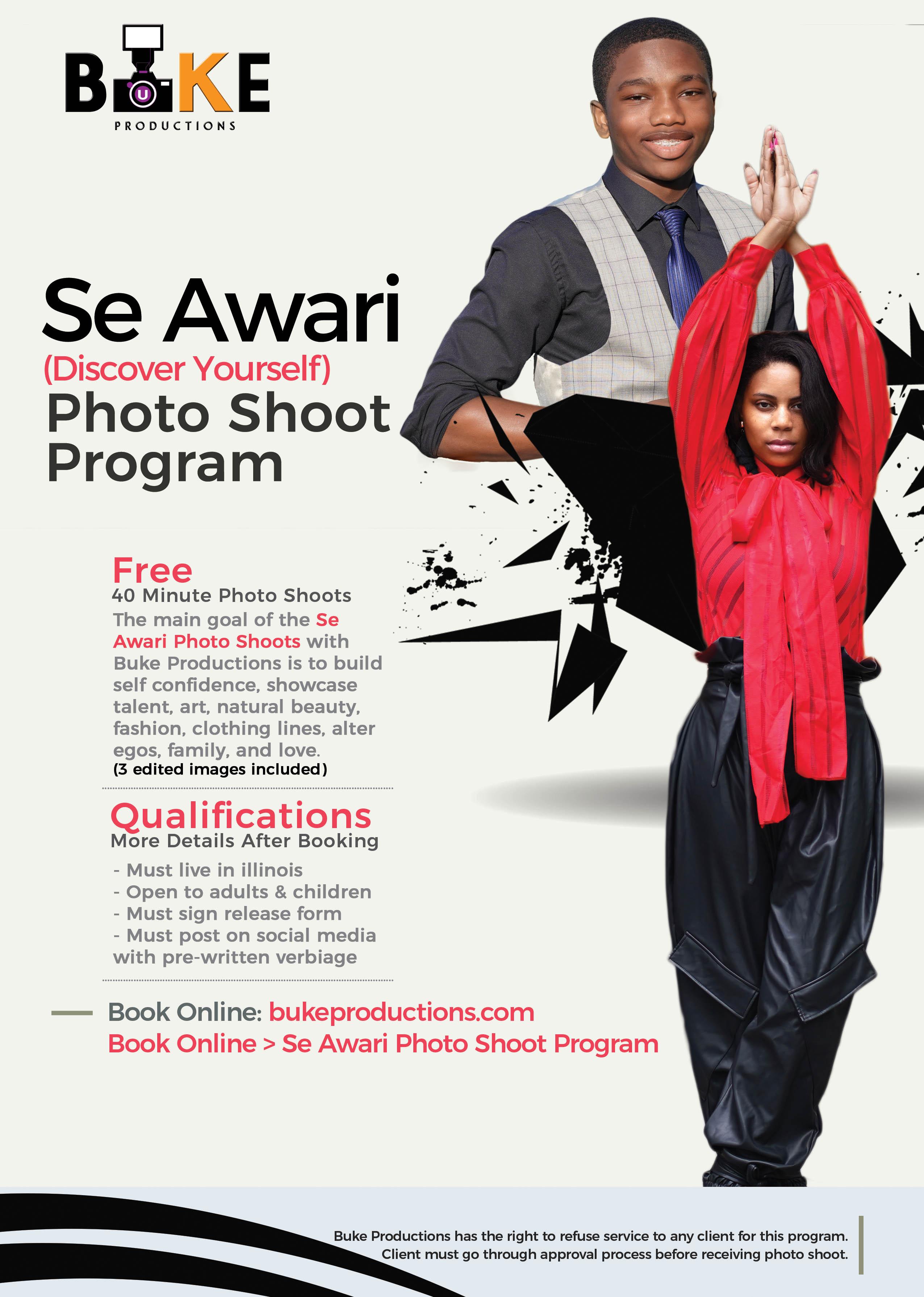 SE AWARI PHOTO SHOOT PROGRAM