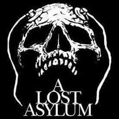 A Lost Asylum Skull T-Shirt