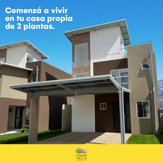 ¡Tu casa de 2 plantas te espera!