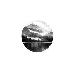 Pointillism Nature Land